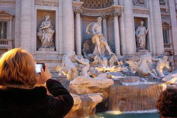 Presentación de la ciudad de Roma, con la atención a las necesidades del cliente